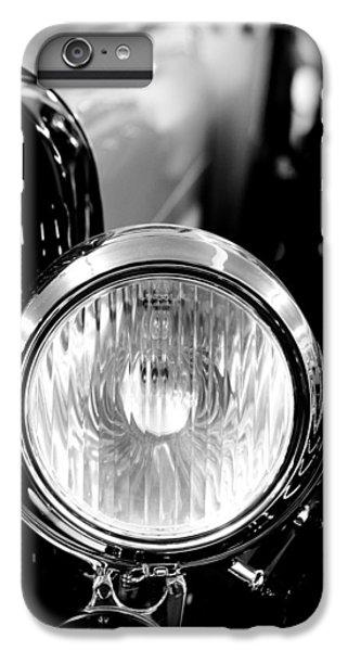 1925 Lincoln Town Car Headlight IPhone 7 Plus Case by Sebastian Musial