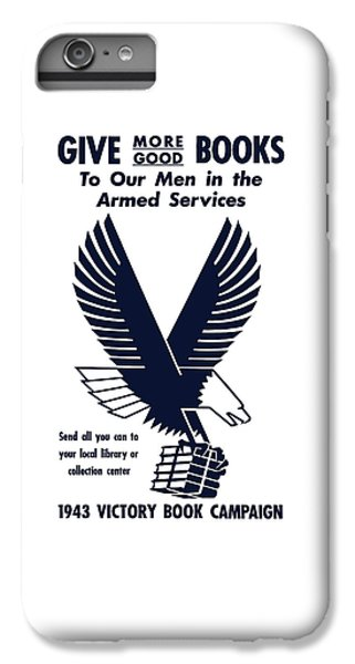 Eagle iPhone 7 Plus Case - 1943 Victory Book Campaign by War Is Hell Store