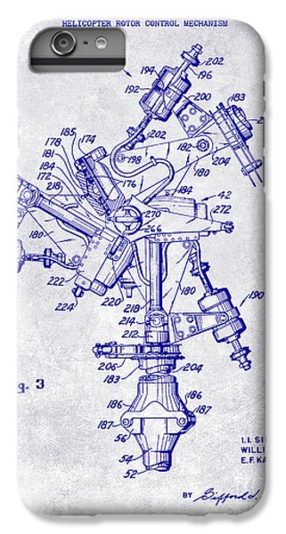 1950 Helicopter Patent Blueprint IPhone 7 Plus Case