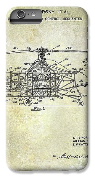 1950 Helicopter Patent IPhone 7 Plus Case by Jon Neidert