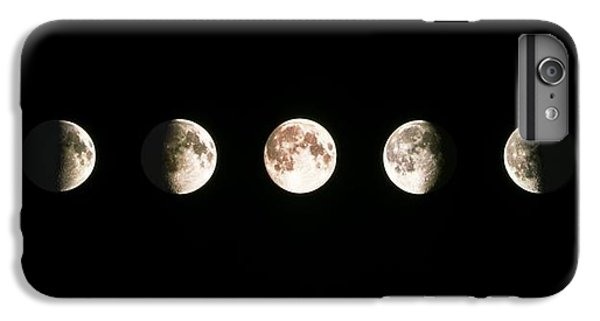 Moon iPhone 7 Plus Case - Composite Image Of The Phases Of The Moon by John Sanford