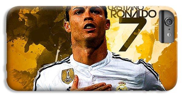 Cristiano Ronaldo IPhone 7 Plus Case by Semih Yurdabak