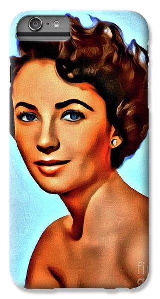 Elizabeth Taylor, Vintage Hollywood Legend IPhone 7 Plus Case by Mary Bassett