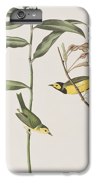Hooded Warbler  IPhone 7 Plus Case by John James Audubon