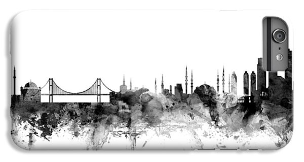 Turkey iPhone 7 Plus Case - Istanbul Turkey Skyline by Michael Tompsett