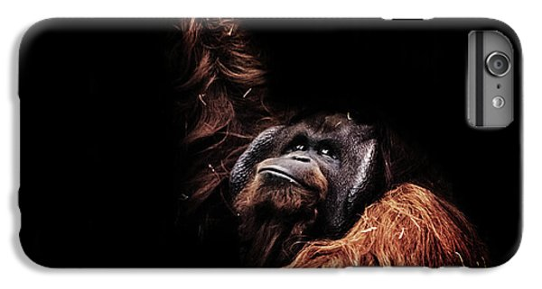 Orangutan iPhone 7 Plus Case - Orangutan by Martin Newman