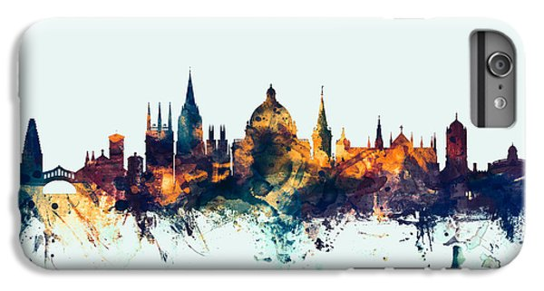 Oxford England Skyline IPhone 7 Plus Case by Michael Tompsett