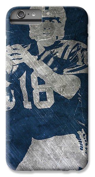 Peyton Manning Colts IPhone 7 Plus Case by Joe Hamilton