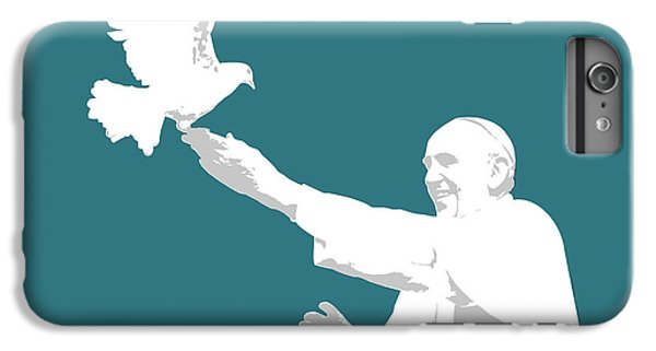 Pope Francis IPhone 7 Plus Case by Greg Joens