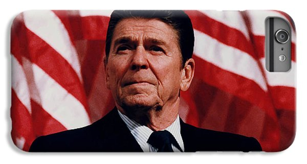 Politicians iPhone 7 Plus Case - President Ronald Reagan by War Is Hell Store