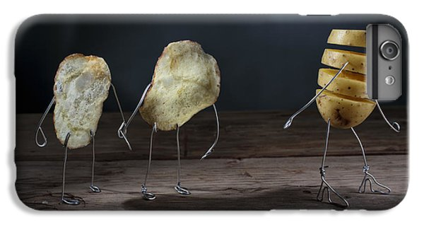 Simple Things - Potatoes IPhone 7 Plus Case by Nailia Schwarz