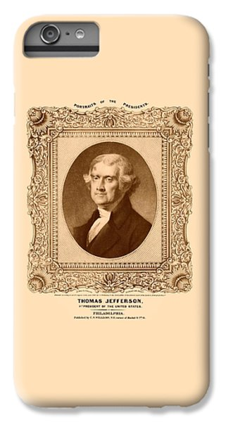 Thomas Jefferson IPhone 7 Plus Case by War Is Hell Store