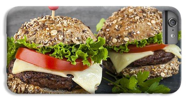 Two Gourmet Hamburgers IPhone 7 Plus Case by Elena Elisseeva