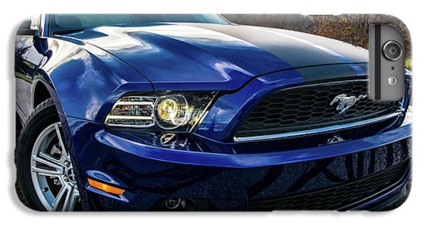 IPhone 7 Plus Case featuring the photograph 2014 Ford Mustang by Randy Scherkenbach