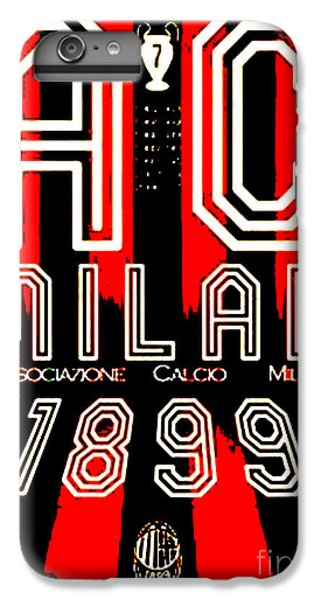ac milan iphone 7 case