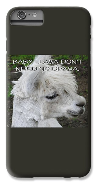 Baby Llama IPhone 7 Plus Case by Ellen Henneke