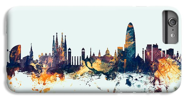 Barcelona Spain Skyline IPhone 7 Plus Case