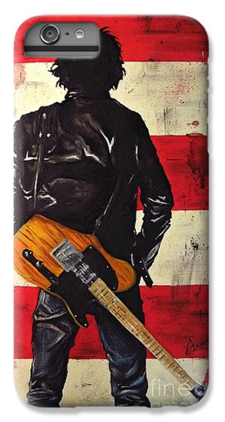 Bruce Springsteen IPhone 7 Plus Case by Francesca Agostini