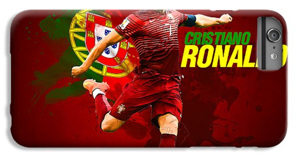 Cristiano Ronaldo iPhone 7 Plus Case - Cristiano Ronaldo by Semih Yurdabak