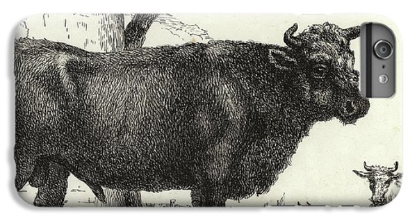 The Bull IPhone 7 Plus Case by Paulus Potter