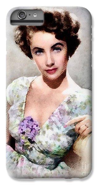 Elizabeth Taylor, Vintage Hollywood Legend IPhone 7 Plus Case by John Springfield