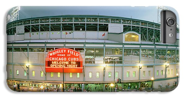 Wrigley Field iPhone 7 Plus Case - High Angle View Of Tourists by Panoramic Images