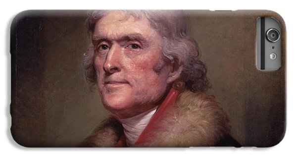 Thomas Jefferson iPhone 7 Plus Case - President Thomas Jefferson by War Is Hell Store