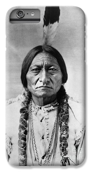 Portraits iPhone 7 Plus Case - Sitting Bull 1834-1890. To License For Professional Use Visit Granger.com by Granger