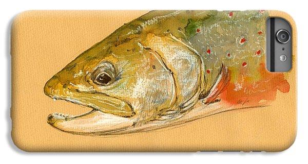 Trout Watercolor Painting IPhone 7 Plus Case