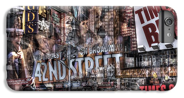 IPhone 7 Plus Case featuring the photograph 42nd Street Times Square 2 by Dave Beckerman