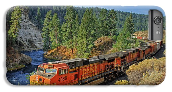Train iPhone 7 Plus Case - 4688 by Donna Kennedy
