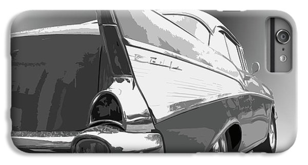 Dick Goodman iPhone 7 Plus Case - 57 Chevy Horizontal by Dick Goodman