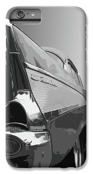 Dick Goodman iPhone 7 Plus Case - 57 Chevy Verticle by Dick Goodman