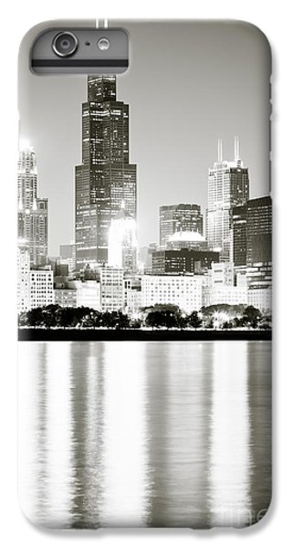 Sears Tower iPhone 7 Plus Case - Chicago Skyline At Night by Paul Velgos