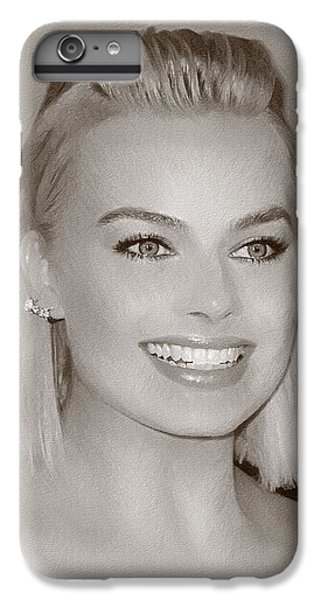 Hollywood Star Margot Robbie IPhone 7 Plus Case