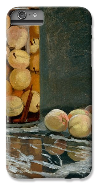 Jar Of Peaches IPhone 7 Plus Case by Claude Monet