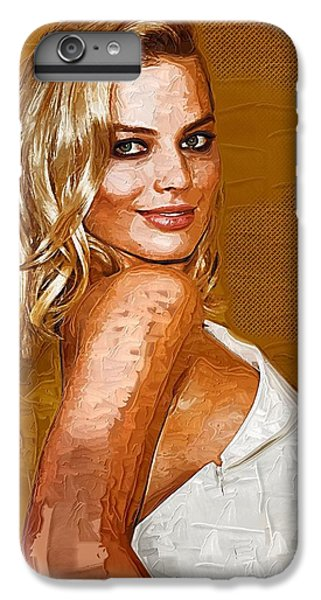 Margot Robbie Art IPhone 7 Plus Case