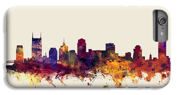 Nashville Tennessee Skyline IPhone 7 Plus Case by Michael Tompsett