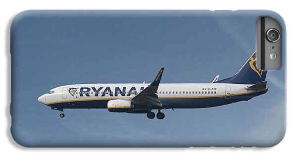 Jet iPhone 7 Plus Case - Ryanair Boeing 737-8as  by Smart Aviation
