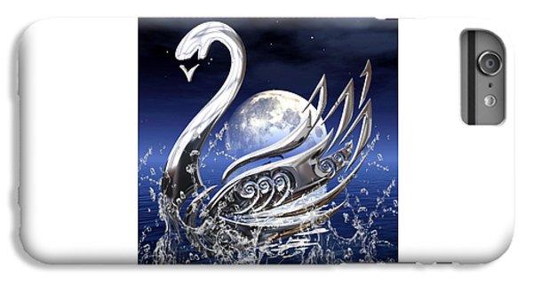 Swan Art IPhone 7 Plus Case