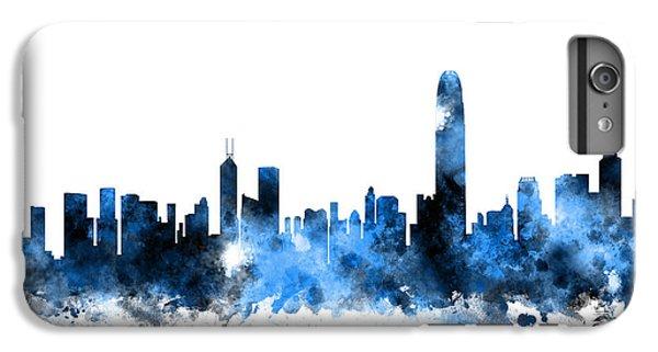 Hong Kong iPhone 7 Plus Case - Hong Kong Skyline by Michael Tompsett