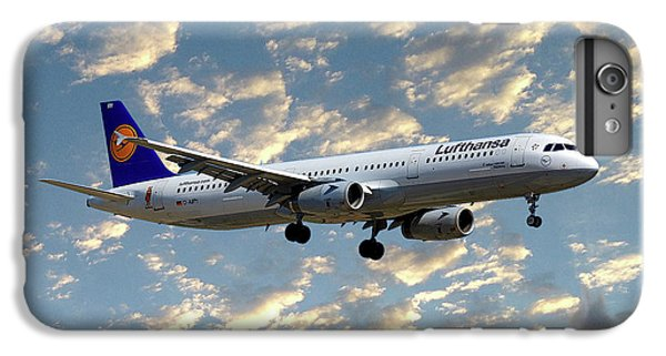 Jet iPhone 7 Plus Case - Lufthansa Airbus A321-131 by Smart Aviation
