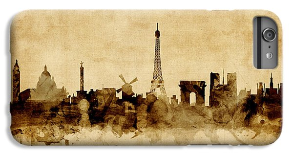 Paris France Skyline IPhone 7 Plus Case by Michael Tompsett