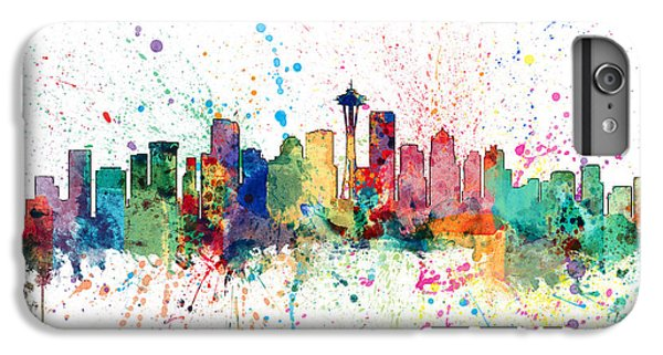 Seattle Washington Skyline IPhone 7 Plus Case