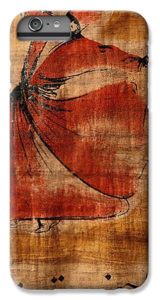 Turkey iPhone 7 Plus Case - A Beautiful Painting Of A Whirling by Gianluca Colla