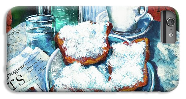 Food And Beverage iPhone 7 Plus Case - A Beignet Morning by Dianne Parks