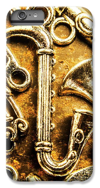 Saxophone iPhone 7 Plus Case - A Classical Composition by Jorgo Photography - Wall Art Gallery