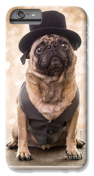 Pug iPhone 7 Plus Case - A Star Is Born - Dog Groom by Edward Fielding