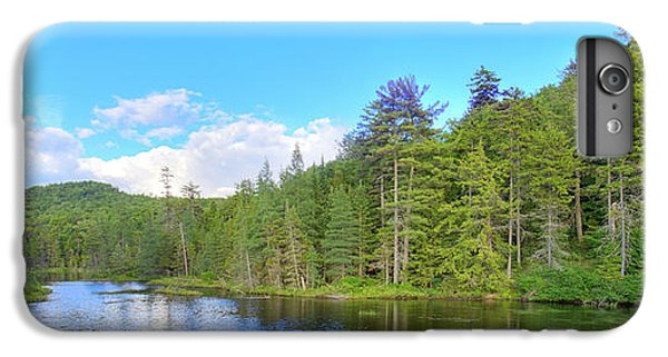 IPhone 7 Plus Case featuring the photograph A Summers Day On Nicks Lake by David Patterson
