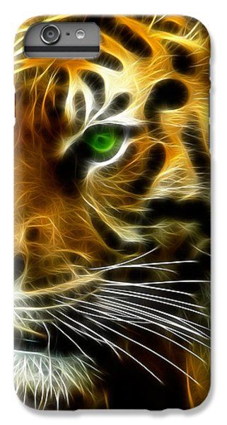 Clemson iPhone 7 Plus Case - A Tiger's Stare by Ricky Barnard